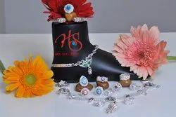 Designer Silver Anklet