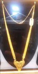 Gold Ranihar Necklace 916
