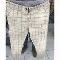 Mens Check Trouser