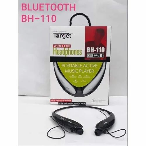 Target Bh 110 Bluetooth Headphones Packaging Type Box Rs 400 Piece Id 19320554291