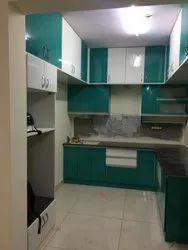 Modular Kitchen & Wardrobe Flats Interior Designing Services