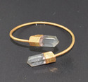Crystal Quartz Bangles
