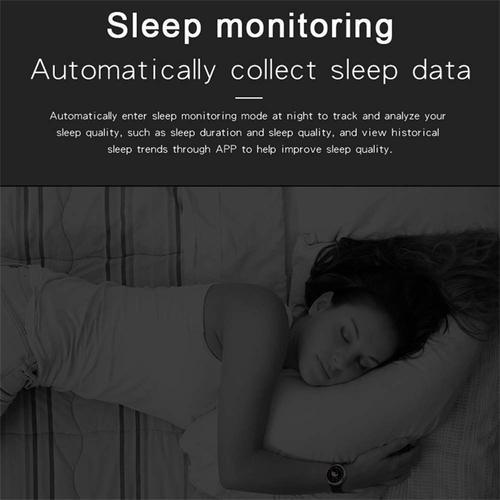 OPTA-SB-081 Bluetooth Heart Rate All-in-One Activity Tracker Sleep Monitor  Compatible with Android