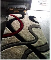 Polyester Printed Beautiful Hand Tufted Carpets