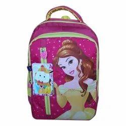 Girls Printed Shoulder School Bag