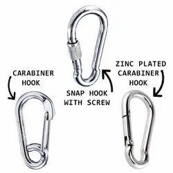 Carabiner Hook & Snap Hook With Screw & Zinc Plated Carabiner Hook