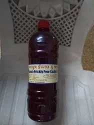 Ayush Red Prickly Pear Juice, Packaging Size: 1000 ml