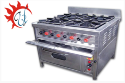 4 Burner Gas Range With Oven