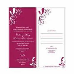 5-7 Days Digital Invitation Card Printing Service, Location: Pan India