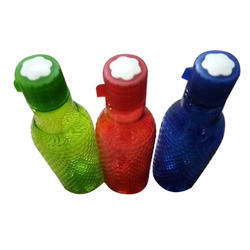 Green And Red 300ML Plastic Water Bottle, Capacity: 300 Ml