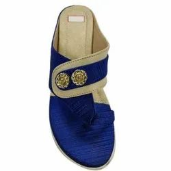 Rexine Printed Designer Ladies Daily Wear Flat Slipper, Size: 36-41