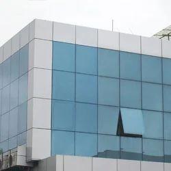 Glass Glazing Fabrication Service, Application: Corporate