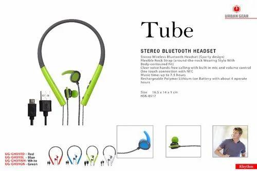 bba8eb8e93e Urban Gear TUBE Stereo Bluetooth Headset UG-GH01, Size: 1416.5 X 14 ...