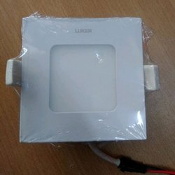 Square ABS Plastic Luker LED Panel Light, IP Rating: IP40