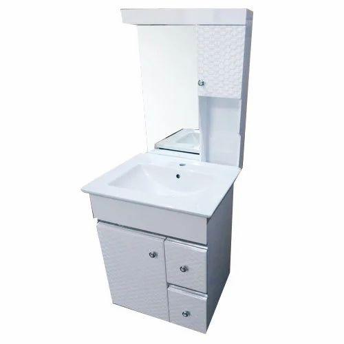 White Pvc Bathroom Vanity Shiv Sanitary Store Id 20196697530