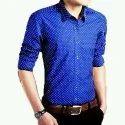Men's Stylish Blue Shirt