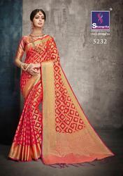 Sangrila Sukanya Silk Series 5221-5232 Stylish Party Wear Banarasi Saree