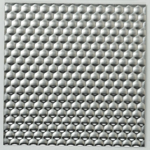 Silver Stainless Steel Textured Sheets 4 5 Mm Rs 20000