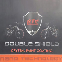 RTC Double Shield for Bicycles Crystal Paint Coating