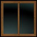 UPVC Colour Sliding Window