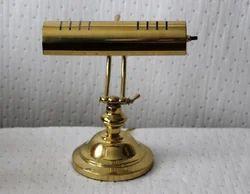 Vintage Brass Adjustable Table Lamp