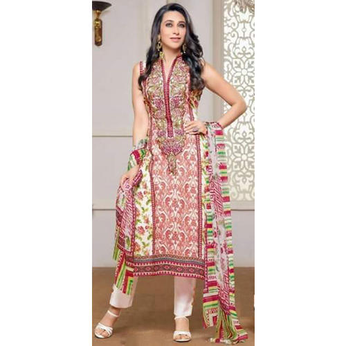 177437ace8 Ladies Cotton Sleeveless Suit, Rs 1500 /piece, Mullaji Impex | ID ...