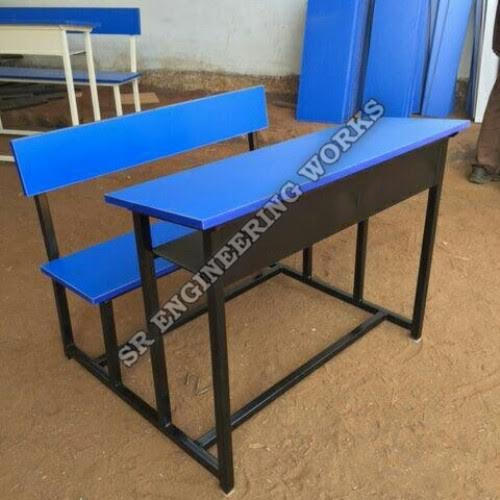 wooden school benches net weight 36 kg s r engineering works id