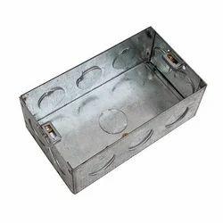 Galvanized Iron (GI) 8 Square GI Electrical Box