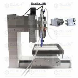 CNC 4axis Machine for Soft Metal Engraving