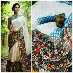 Digital Printed Pure Linen Sarees