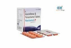 Aceclofenac and Patacetamol Tablets