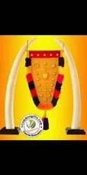 Wooden Decorative Elephant Tusk