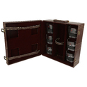 Brown - 06 Travel Bar Set