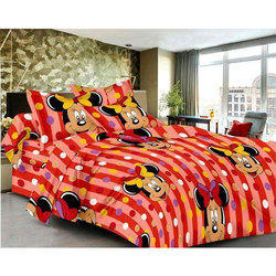Micky Printed Cotton Bed Sheet