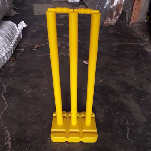 OCTANE Plastic Cricket Stump Set- Plastic Base, 28