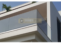 Shrouded Aluminum Glass Railing