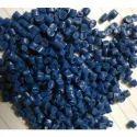 Blue Reprocessed Nylon Granules