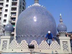 Avion Glass Mosaics Masjid Mosque Dome