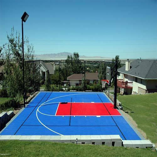 Outdoor Flooring Outdoor Basketball Flooring