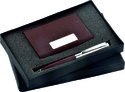 Brown Edition Two Piece Corporate Gift Set