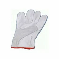Plain Leather Driver Hand Gloves, Size: 10 inches, Full Fingered