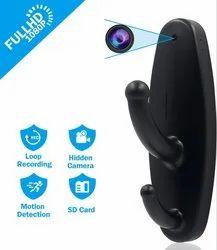 Hidden Camera Clothes Hook Mini Spy Camera HD 1080