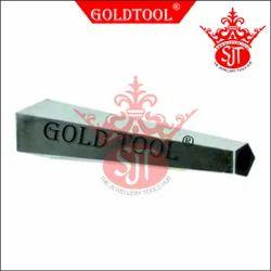 Gold Tool Bracelet Mandrel Pentagon