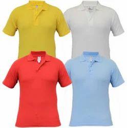 Multi Color Collar School T-Shirt
