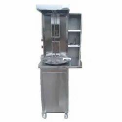 Shawarma Machine Double Burner