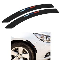 Car Wheel Walls Fender Eyebrow Edge Trim Side Bumper Protection Guard
