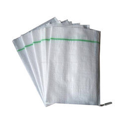 White HDPE Sacks, Packaging Type: Sac