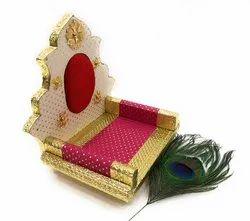 Ladoo Gopal Sinhasan Krishna Bethak For Temple