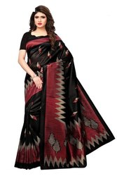 Casual Wear Mysore Silk Saree with Running Blouse