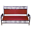 Maroon Two Seater Sofa